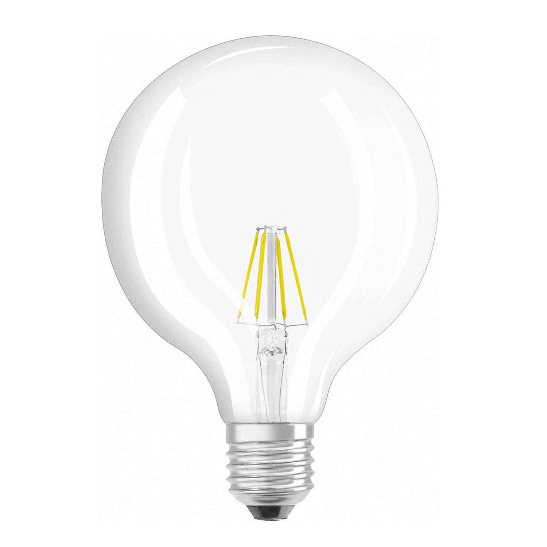 E27 6W 827 LED bollamp, Retrofit