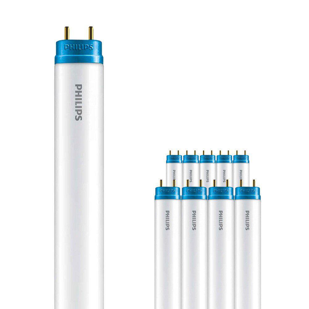 Voordeelpak 10x Philips CorePro LEDtube EM 20W 840 150cm   Koel Wit - incl. LED Starter - Vervangt 5