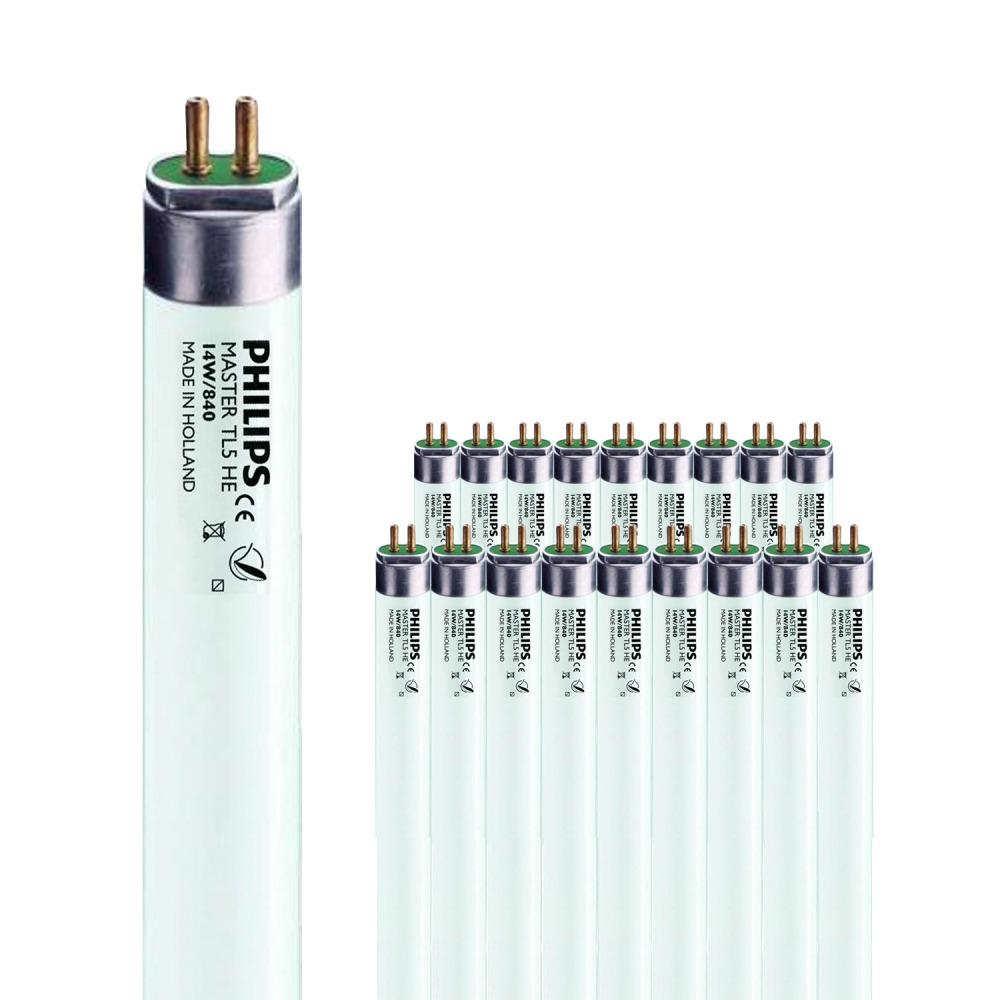 Voordeelpak 40x Philips MASTER TL5 HE 14W/840 1SL/20