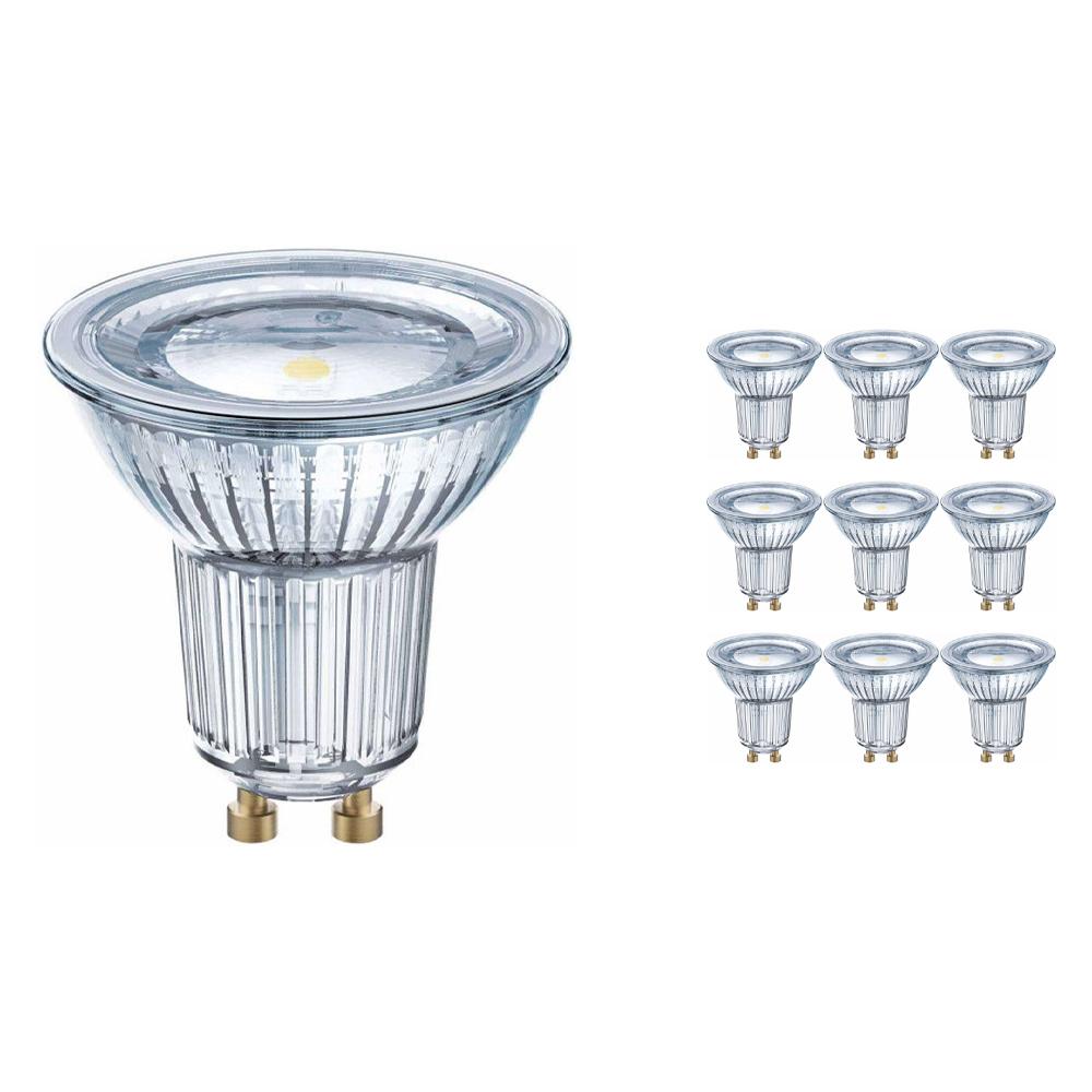 Voordeelpak 10x Osram Parathom GU10 PAR16 6.9W 830 120D   Warm Wit - Vervangt 80W