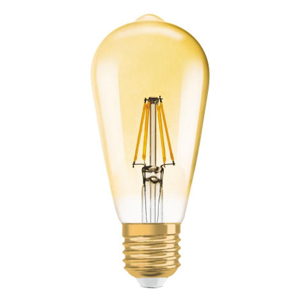 E27 4W 824 LED rustika lamp vintage editie 1906