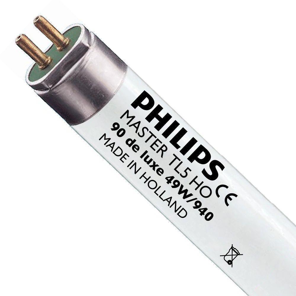 Philips TL5 HO 90 De Luxe 49W 940 (MASTER) | 145cm - Koel Wit