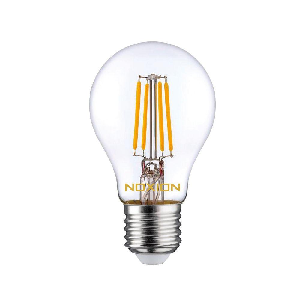 Noxion Lucent Filament LED Bulb 7W 827 A60 E27 Helder | Dimbaar - Zeer Warm Wit - Vervangt 60W