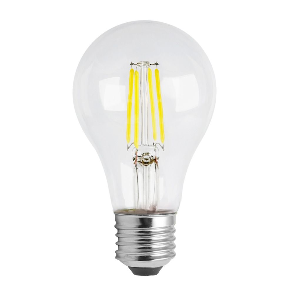 Noxion Lucent Classic LED Filament A60 E27 8W 822-827 Helder | Dimbaar - Zeer Warm Wit - Vervangt 60W