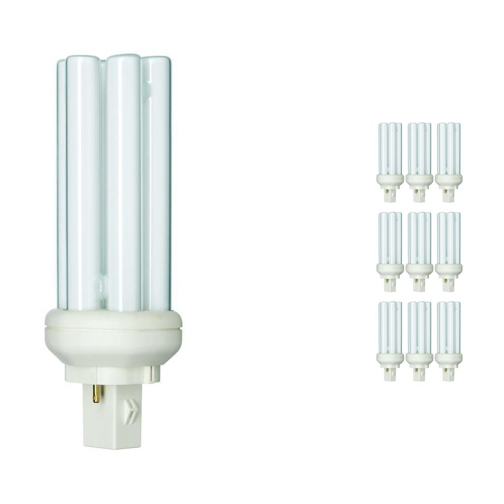 Voordeelpak 10x Philips PL-T 26W 830 2P (MASTER) | Warm Wit - 2-Pin