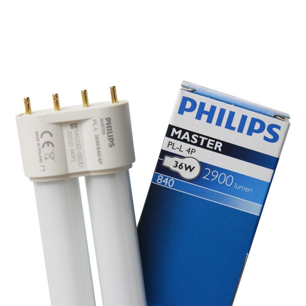 Philips PL-L 36W 840 4P (MASTER)   Koel Wit - 4-Pin
