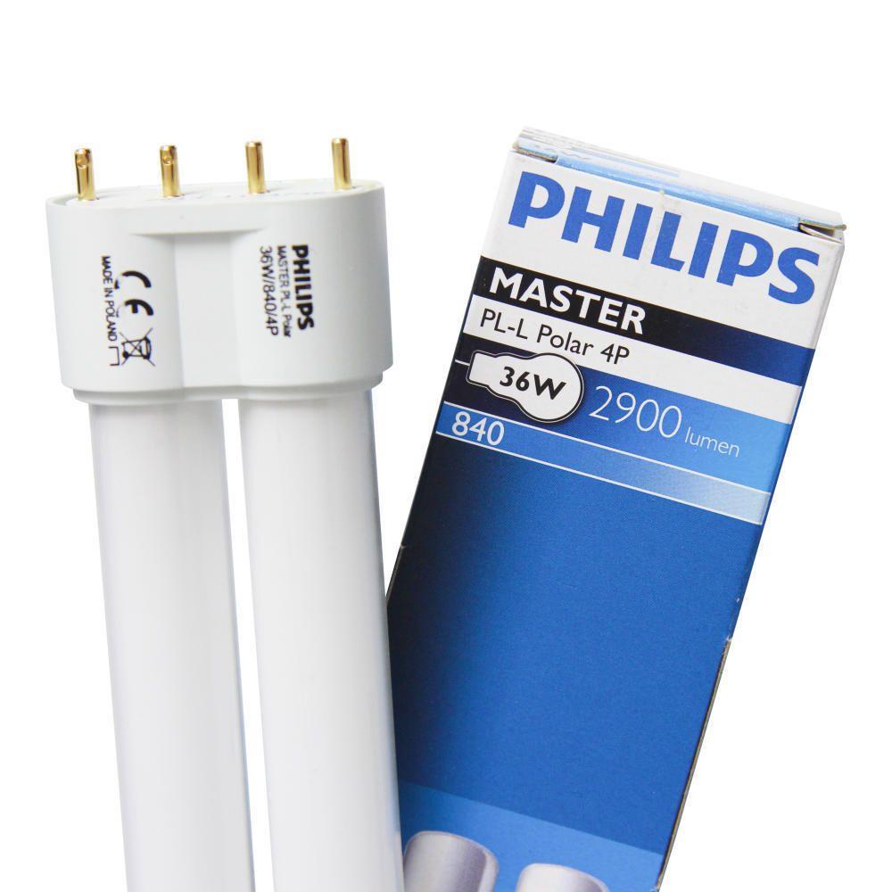 Philips PL-L 40W 840 4P (MASTER) | Koel Wit - 4-Pin