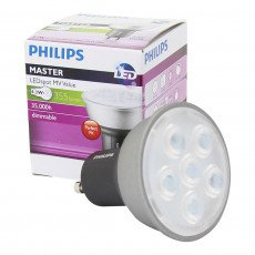 Philips MASTER LEDspot MV Value D 4.3-50W 827 25D GU10