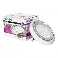 Philips MASTER LEDspot LV D 15 - 75W 830 AR111 24D