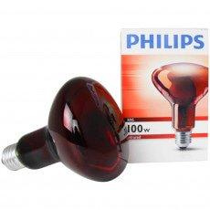 Philips R95 IR 100W E27 230V Red