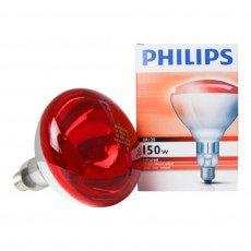 Philips BR125 IR 150W E27 230-250V Red