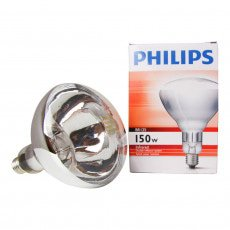 Philips BR125 IR 150W E27 230-250V Clear
