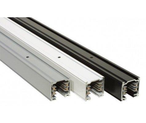 3 Fase Railsysteem - 1m - Aluminium