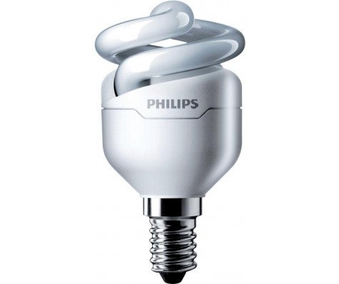 Philips Tornado Spiral 12W 840 E14