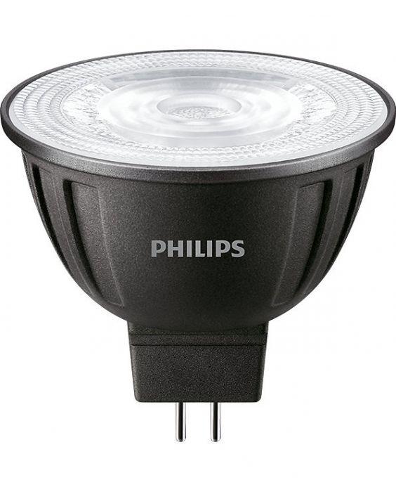 Philips LEDspot LV GU5.3 MR16 8W 827 36D (MASTER)   Extra Warm Wit - Dimbaar - Vervangt 50W