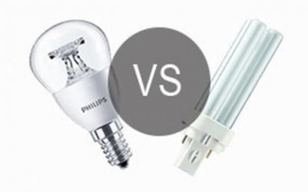 Wat is het verschil tussen een LED lamp en een spaarlamp?