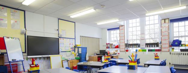 LED verlichting voor scholen