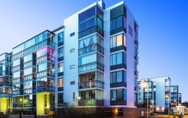Wat is het beste licht voor in een appartementencomplex?