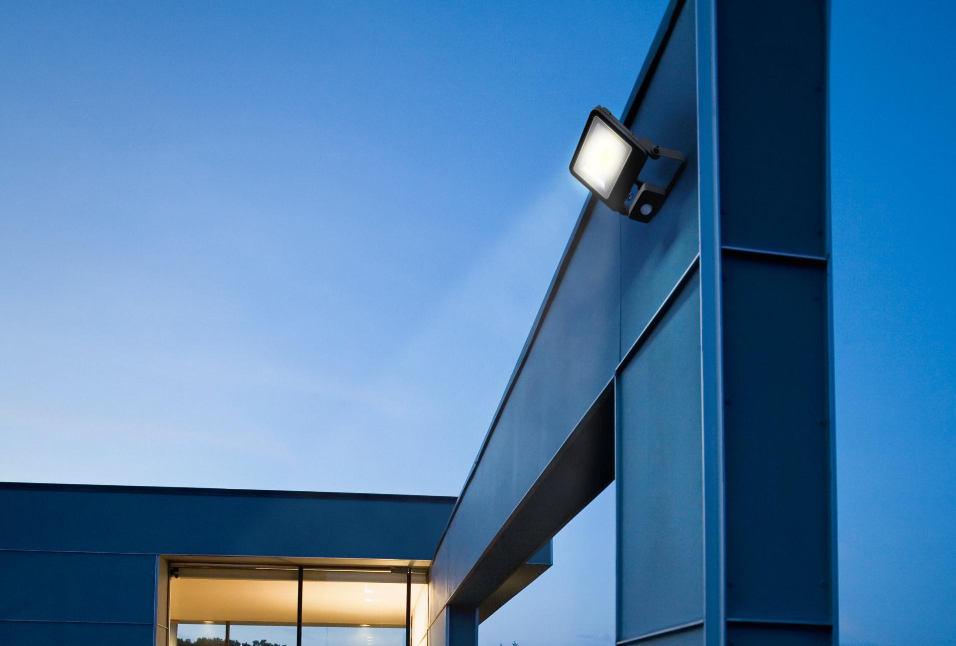 LED Buitenverlichting Bedrijfsgevel