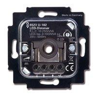 Busch-Jaeger 6523U-102 Draai LED Dimmer 2W - 100W