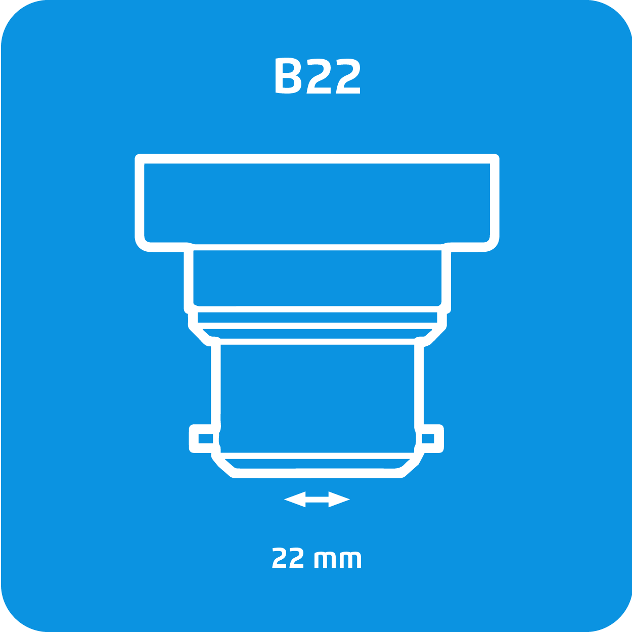 Sylvania LED B22