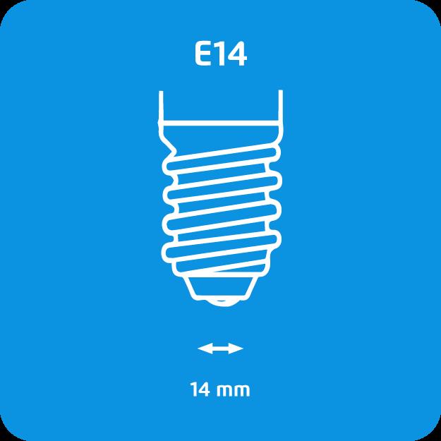 E14 lampvoet
