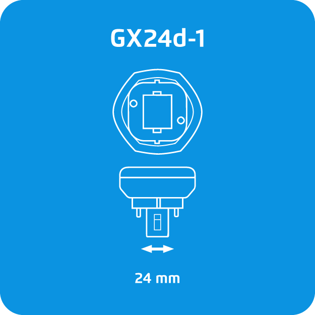 Osram Dulux T GX24d-1