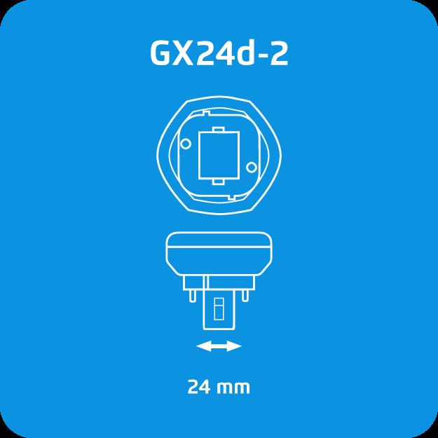 Osram Dulux T GX24d-2