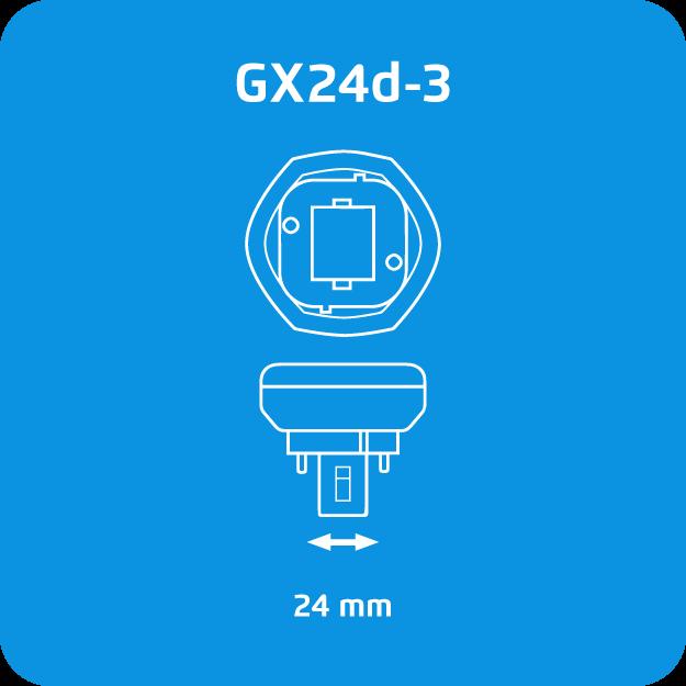 Osram Dulux T GX24d-3