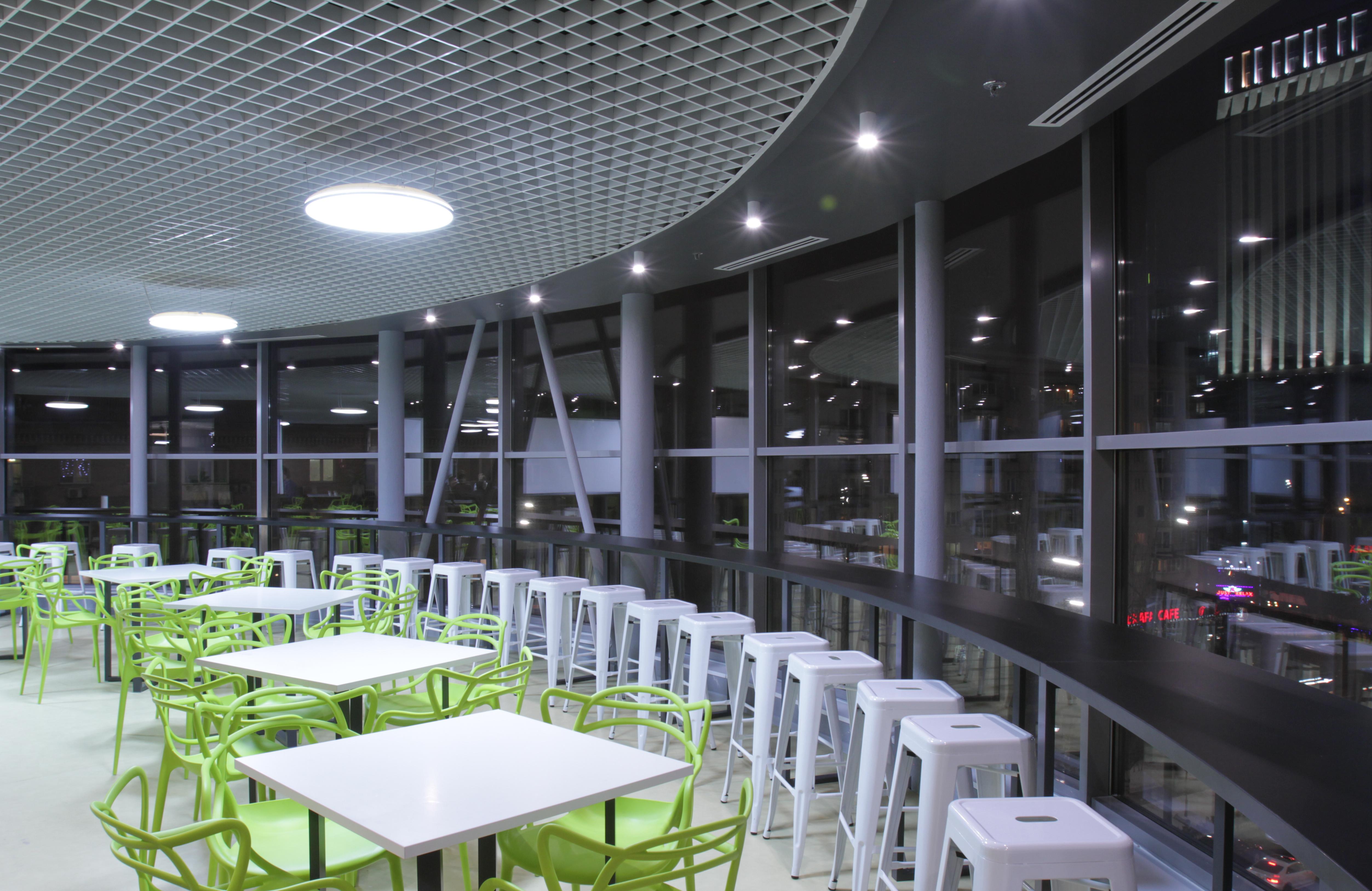 LED Inbouwspots Kantine