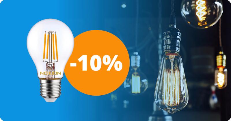 Dag van de Lamp LED Filamentlampen